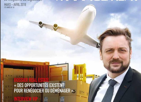 ECDC LOGISTICS IN LINK2LOGISTICS MANAGEMENT MAGAZINE.