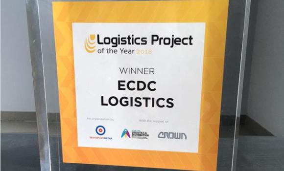 ECDC LOGISTICS WINS THE LOGISTICS PROJECT OF THE YEAR AWARD