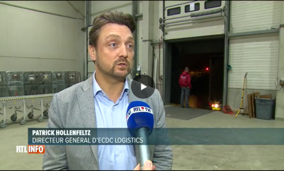 ECDC LOGISTICS ON NATIONAL TV TO TALK ABOUT THE LOGISTICS OPERATIONS AT LIEGE AIRPORT